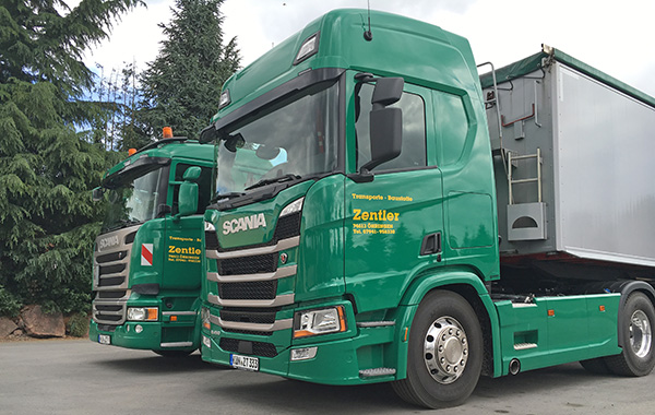 Scania New Generation bei Zentler